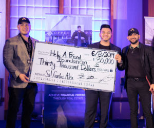 All In Entrepreneurs Donate 30,000 To Help A Friend Foundation