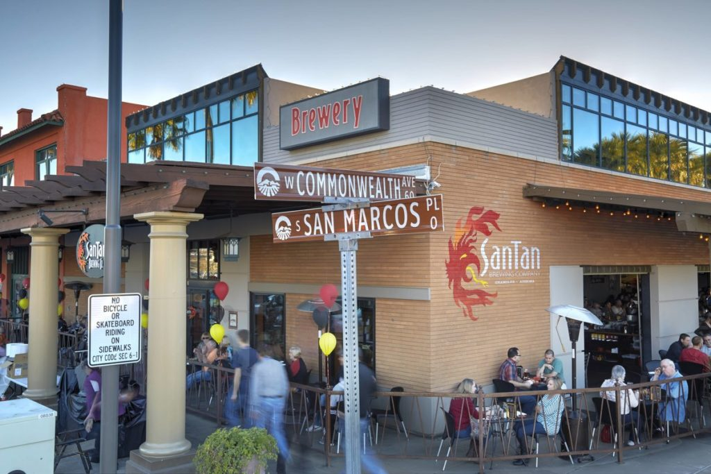 SanTan Brewing Company Opens New Bar in Chandler
