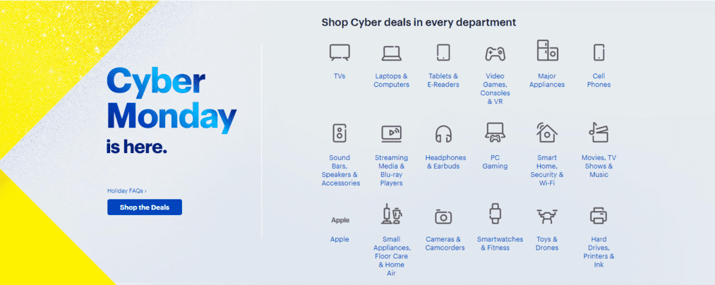 Best Buy Cyber Monday