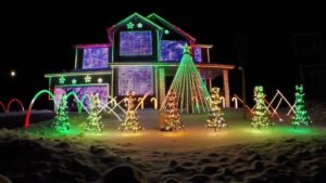 Christmas light displays in Phoenix