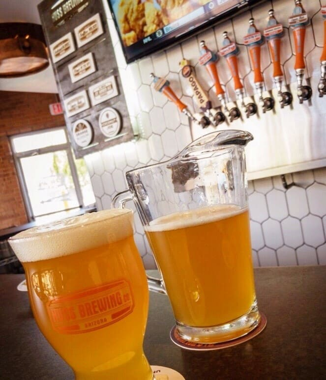 New Huss Brewery in Downtown Phoenix