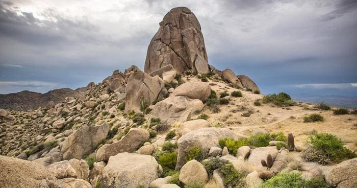 Tom's Thumb in McDowell Mountains