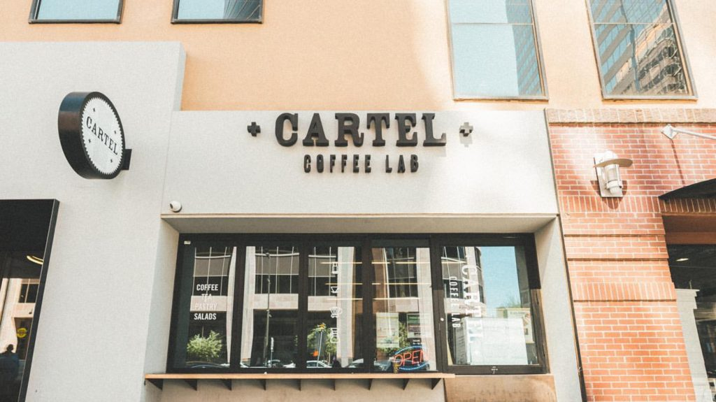Cartel Coffee in Downtown Phx